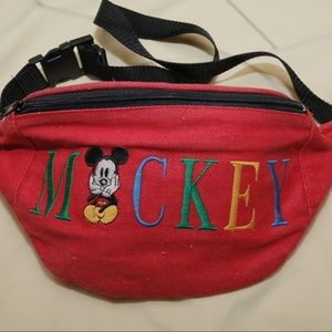 VTG Mickey Mouse Fanny Pack